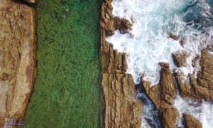The Blue Pool at Bermagui, which is Guardian Australia editor Lenore Taylor's favourite ocean pool.