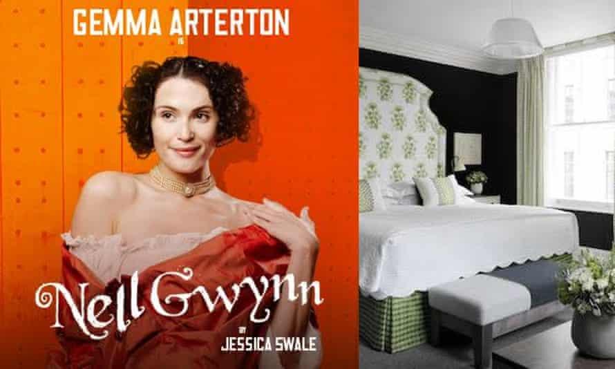 Gemma Arterton stars in Nell Gwynn, opening at the Apollo Theatre in February 2016.