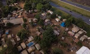 Tekoá Pyau, one of the two tiny Guaraní villages in São Paulo.