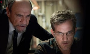 F Murray Abraham and Maury Sterling in Homeland season six, which predicted Russian election interference.