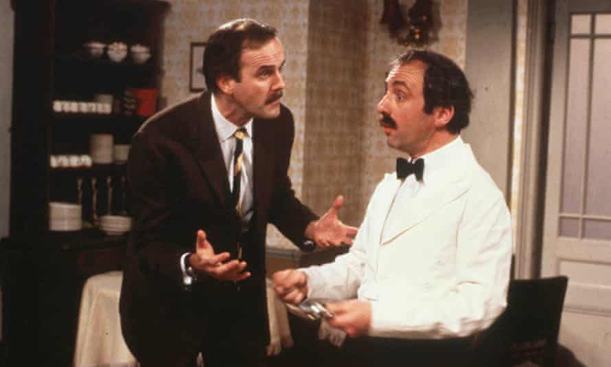 John Cleese and Andrew Sachs in Fawlty Towers.
