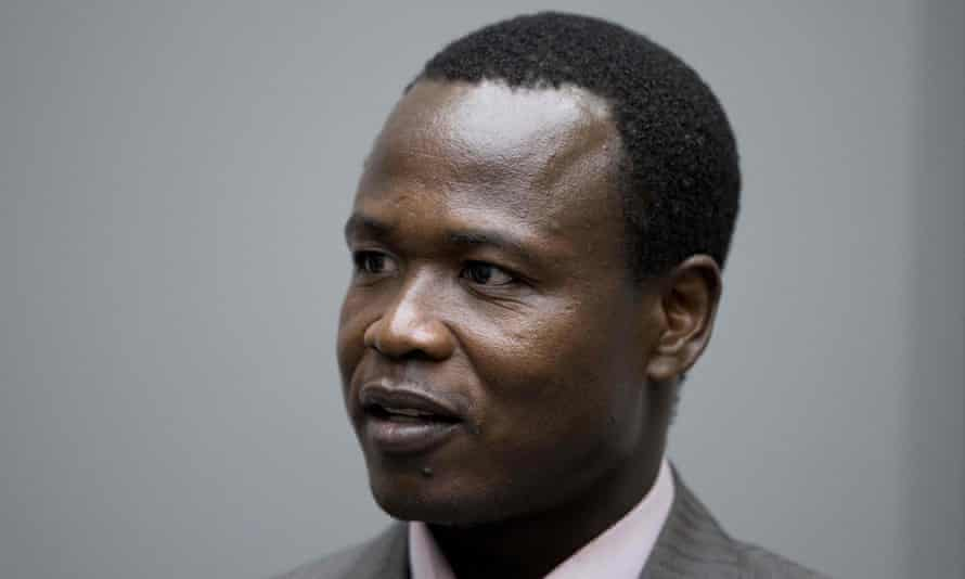 Dominic Ongwen in court in 2016. The senior commander in Uganda's Lord's Resistance Army has been sentenced to 25 years in prison.