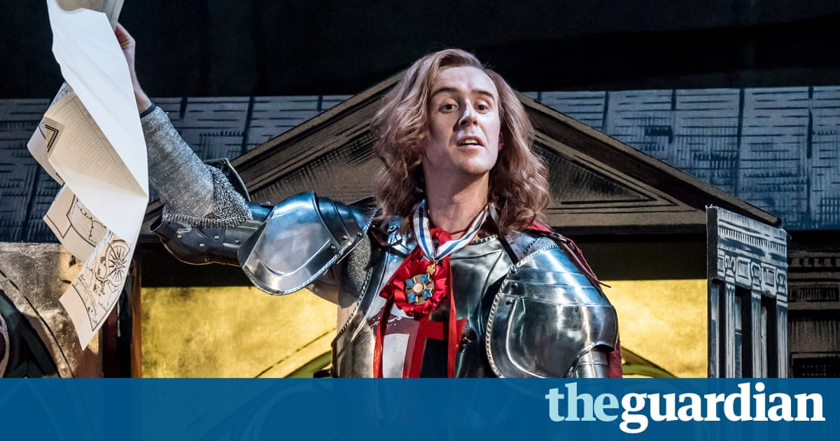 Saint George and the Dragon review – national hero on a quest through time