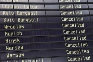 Flight cancellations.
