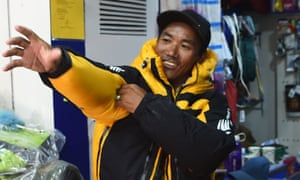 Nepalese veteran Sherpa guide Kami Rita has climbed Mount Everest for the 22nd time.