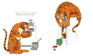 Judith Kerr's The Tiger Who Came to Tea.