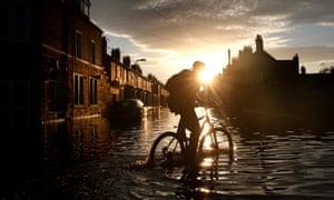 flooded Carlisle street