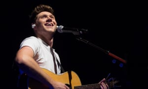 Boyband-to-own-man... Niall Horan at the Shepherd's Bush Empire, London.