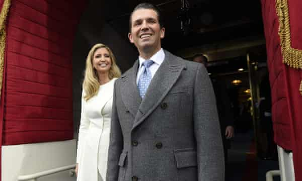 Trump Jr and Ivanka Trump 'knew they were lying' over ploy to sell condos, book claims