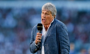 Making friends: presenter John Inverdale raised hackles on social media after likening Nick Kyrgios to a 'character from the Jungle Book'.