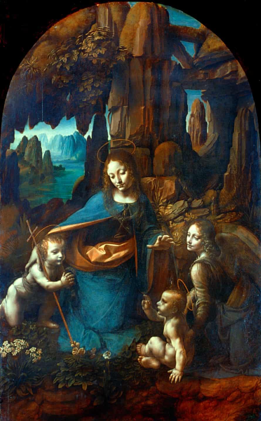 The Virgin of the Rocks, c.1491-1508, by Leonardo da Vinci
