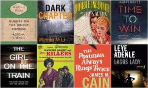 Crime covers, classic and new.