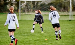 The results of a Uefa survey showed that 80% of teenage girls exhibited more confident behaviour thanks to playing with a football team