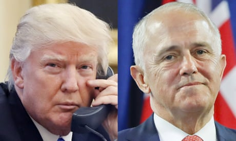 Leak of call between Trump and Malcolm Turnbull could lead to criminal charges