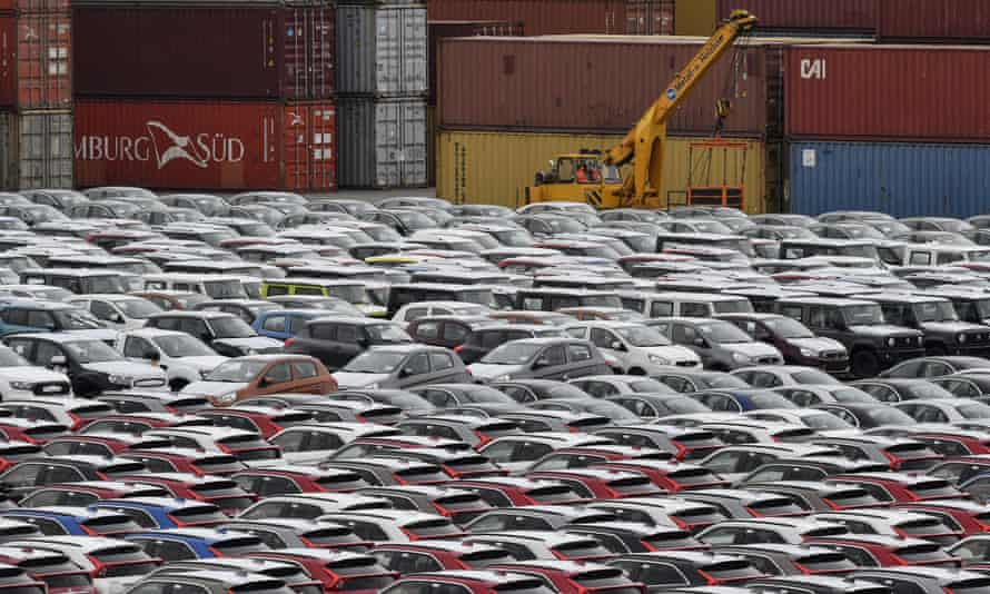 The German car industry has not been helped by falling currency values in the far east