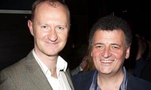 Mark Gatiss, left, and Steven Moffat