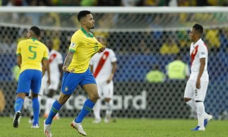 Brazil 3-1 Peru: Copa América 2019 final – as it happened