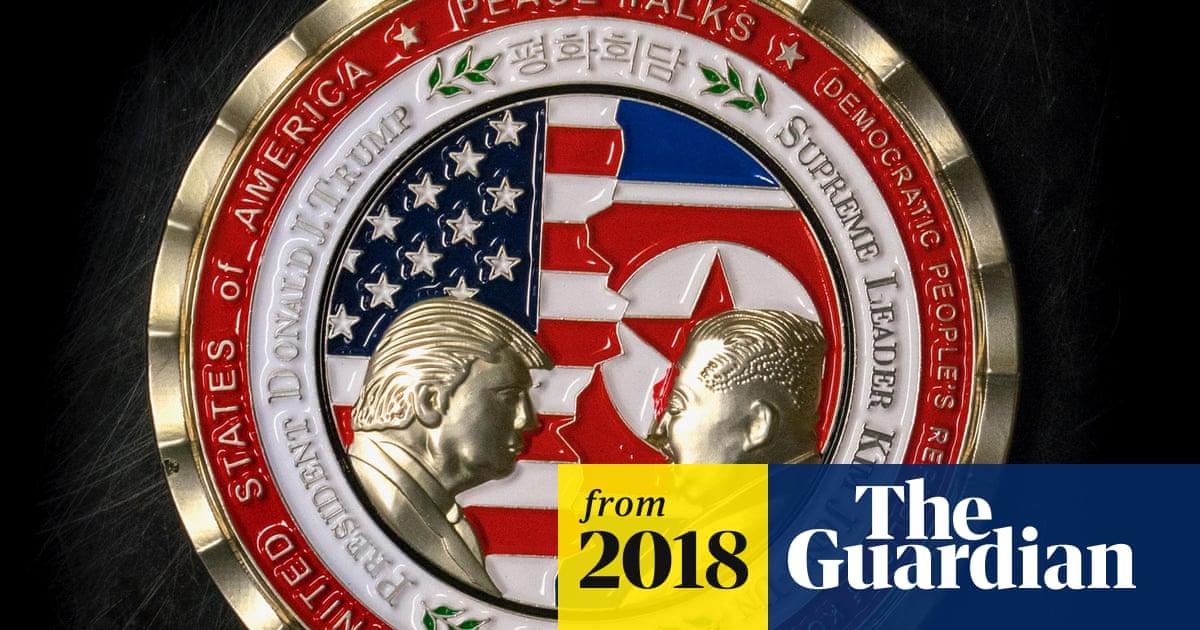 Weird, odd, a dumpster fire': Trump's North Korea summit coin