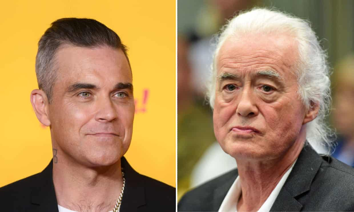 Robbie Williams 'blasting Black Sabbath' at Jimmy Page, letter claims (theguardian.com)