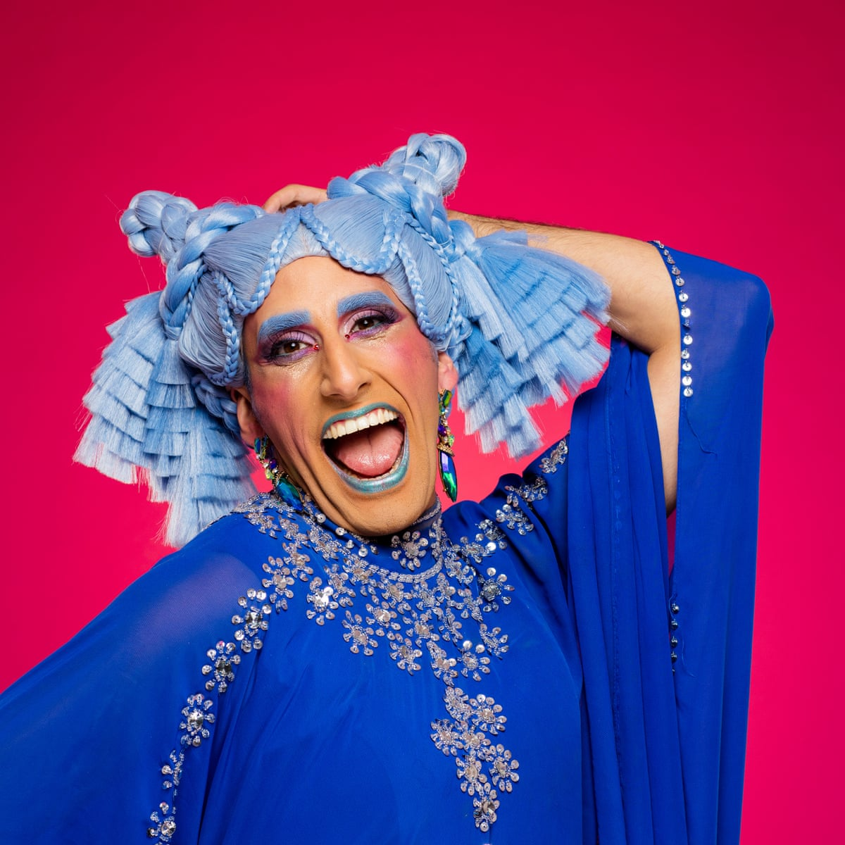 Muslim Drag Queen Amrou Al Kadhi Whenever The Drag Came Off I D Have A Nervous Breakdown Culture The Guardian
