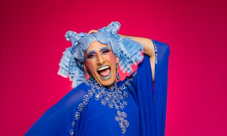 Amrou Al-Khadi: 'When I started drag, it felt like the ultimate rejection of everything I was taught in the Middle East.'