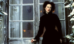 Books and bonds … Nicole Kidman as Isabel Archer in the 1996 film adaptation of The Portrait of a Lady.