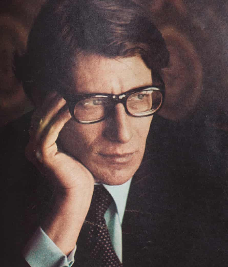 Clothes maketh the man: inside the mind of Yves Saint Laurent.