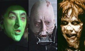 The Wicked Witch of the West, Darth Vader and Regan MacNeil – dark characters whose inner corruption is indicated by their skin conditions.