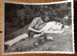 Charlotte and Otto, near Going, Austria in late 1948.