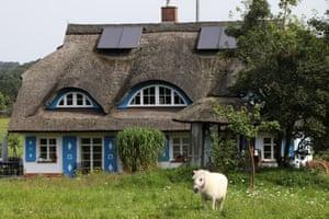 A typical village cottage in Altensien.