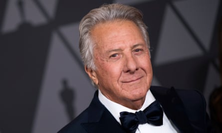 Dustin Hoffman earlier this month.