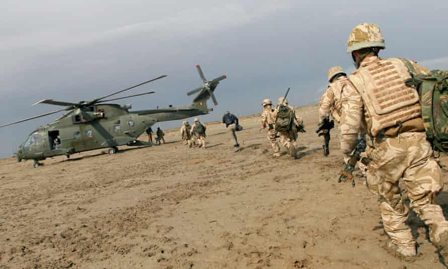 The overseas operations bill would cover British soldiers who served in Iraq and Afghanistan.