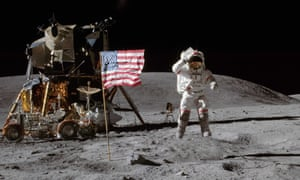 John Young was the ninth man to walk on the moon, which he did in April 1972.