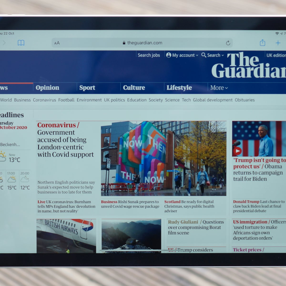 New Window Tablets 2020 Christmas Apple iPad Air 2020 review: a cheaper iPad Pro for the rest of us