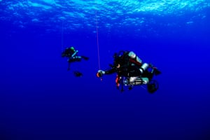 Twilight zone divers may spend 5-10 minutes descending to maximum depth and then they quickly get to work