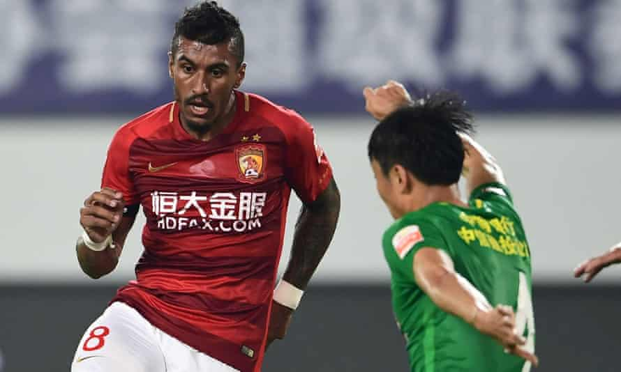 Paulinho has forced his way back into the Brazil side since his move to China.