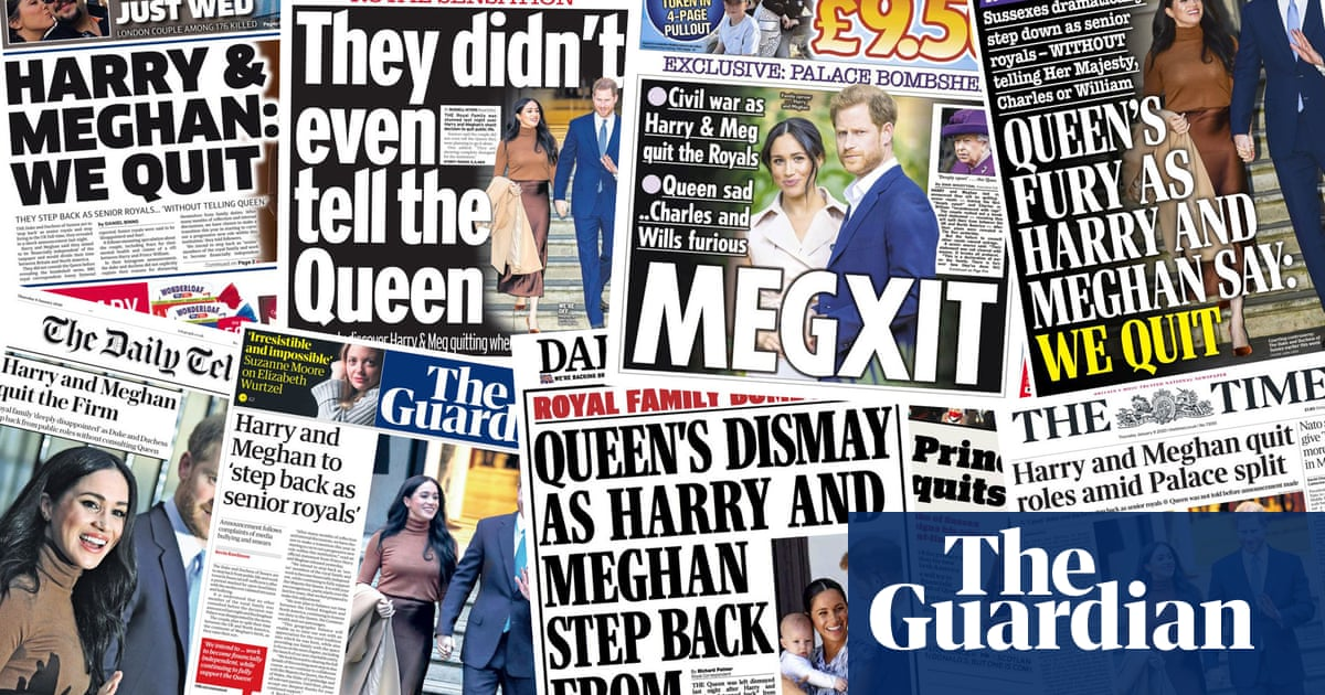 Queens fury: what the papers say about Harry and Meghans bombshell