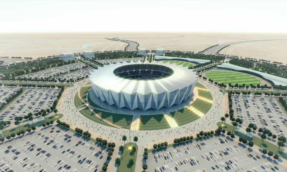 Bahria Town's design for Pakistan's largest cricket stadium.