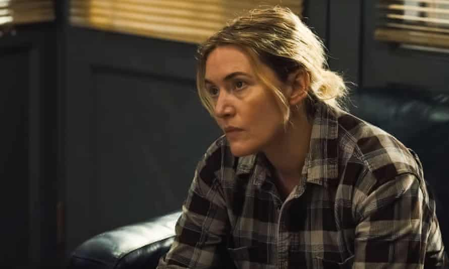 Kate Winslet in Mare of Easttown.