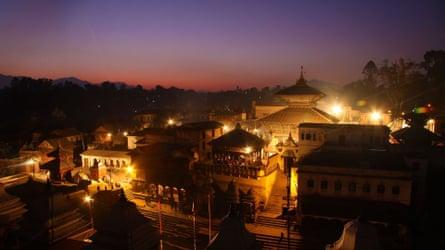 Full Moon Concerts at Kirateshwar Mahadev Temple, Kathmandu, Nepal.