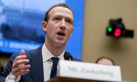Mark Zuckerberg testifies on Capitol Hill in Washington about the use of Facebook data to target American voters in the 2016 election.