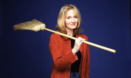 Sweeping up errors … JK Rowling.
