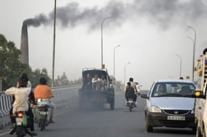 A highway in Jalandhar
