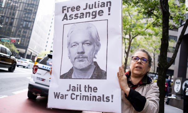 UN calls for Julian Assange's release from UK high-security jail
