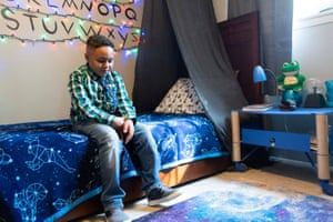 Jamari, who has autism, is into 'the usual kid stuff': action figures, Legos, and making slime.