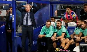 Steve McClaren cuts an embattled figure, QPR v Bristol City