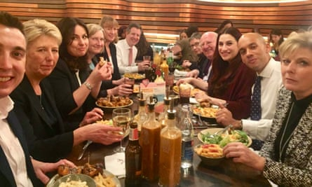 The Independent Group's 'Nando's summit', 25 February.