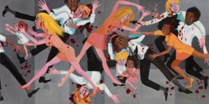 Blood in the streets … American People Series #20: Die, 1967, by Faith Ringgold.