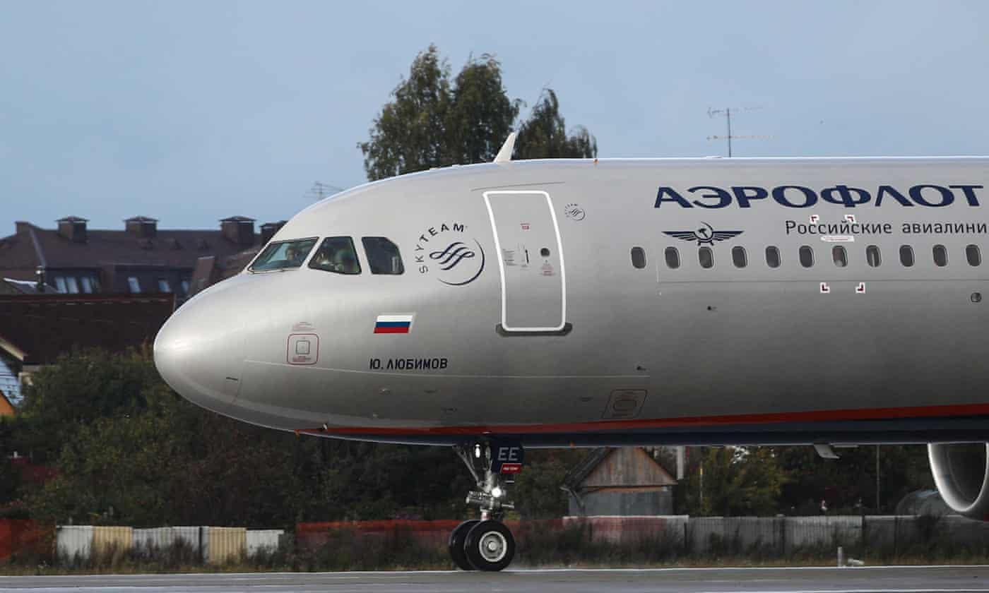 Aeroflot fails to see the funny side after passenger's fat cat swap