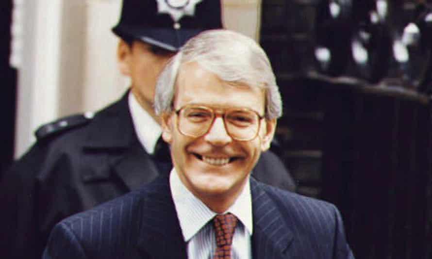 John Major in July 1993.